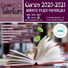 Inicio de curso 2020